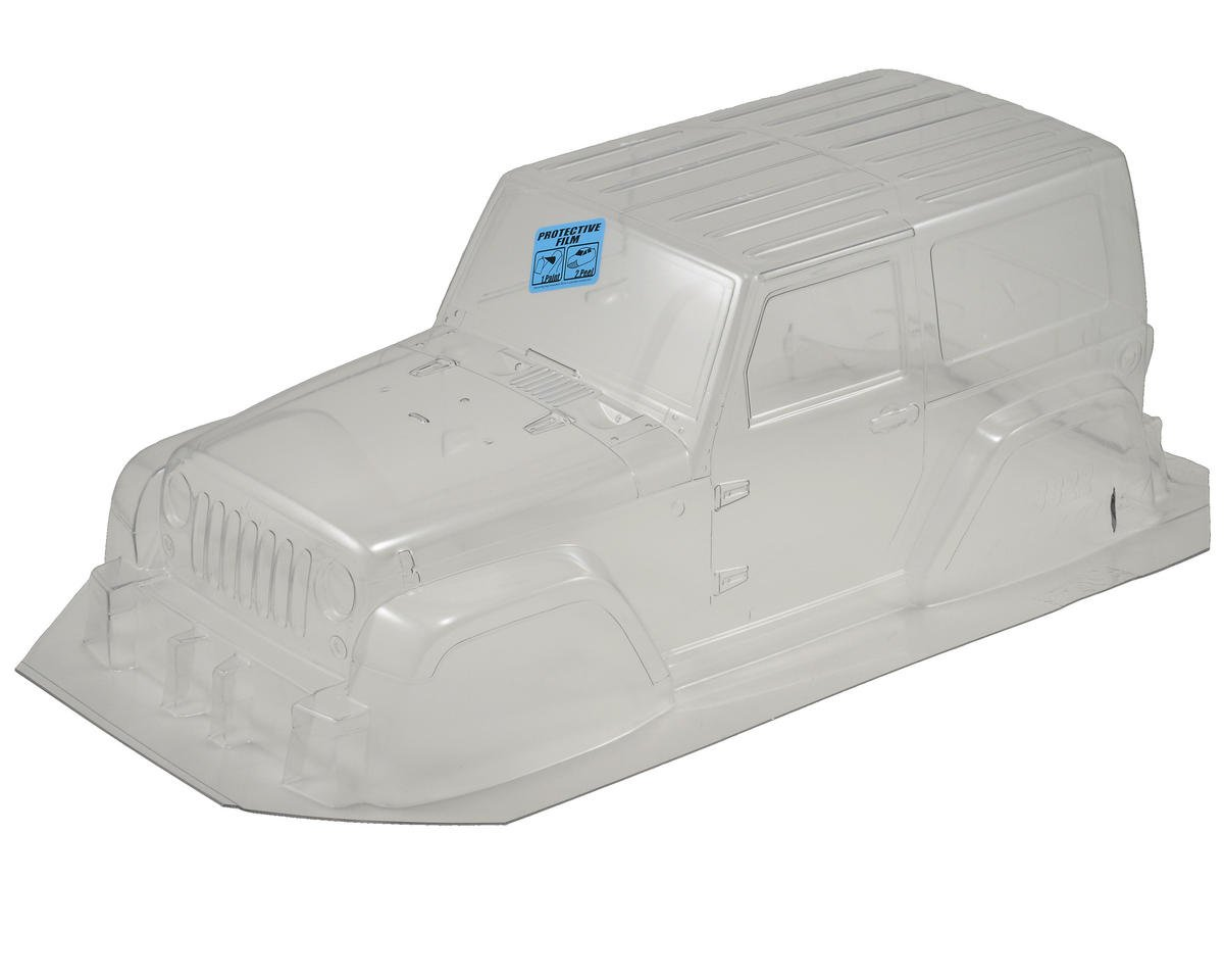 2009 Jeep Wrangler 1/10 Crawler Body (Clear) by Pro-Line (Axial AX10)