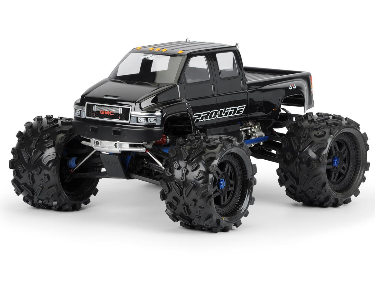 GMC Top Kick Monster Truck Body (Clear) by Pro-Line