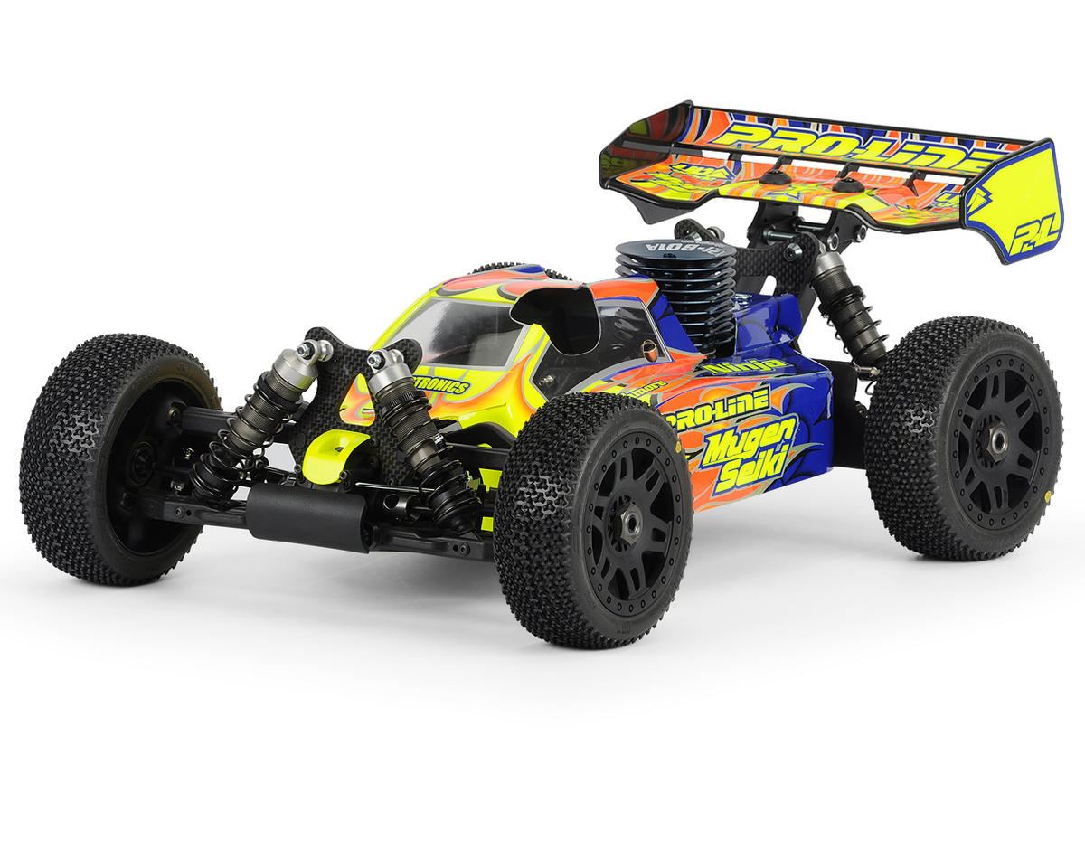 Pro-Line BullDog 1/8 Buggy Body (Clear) (MBX6)