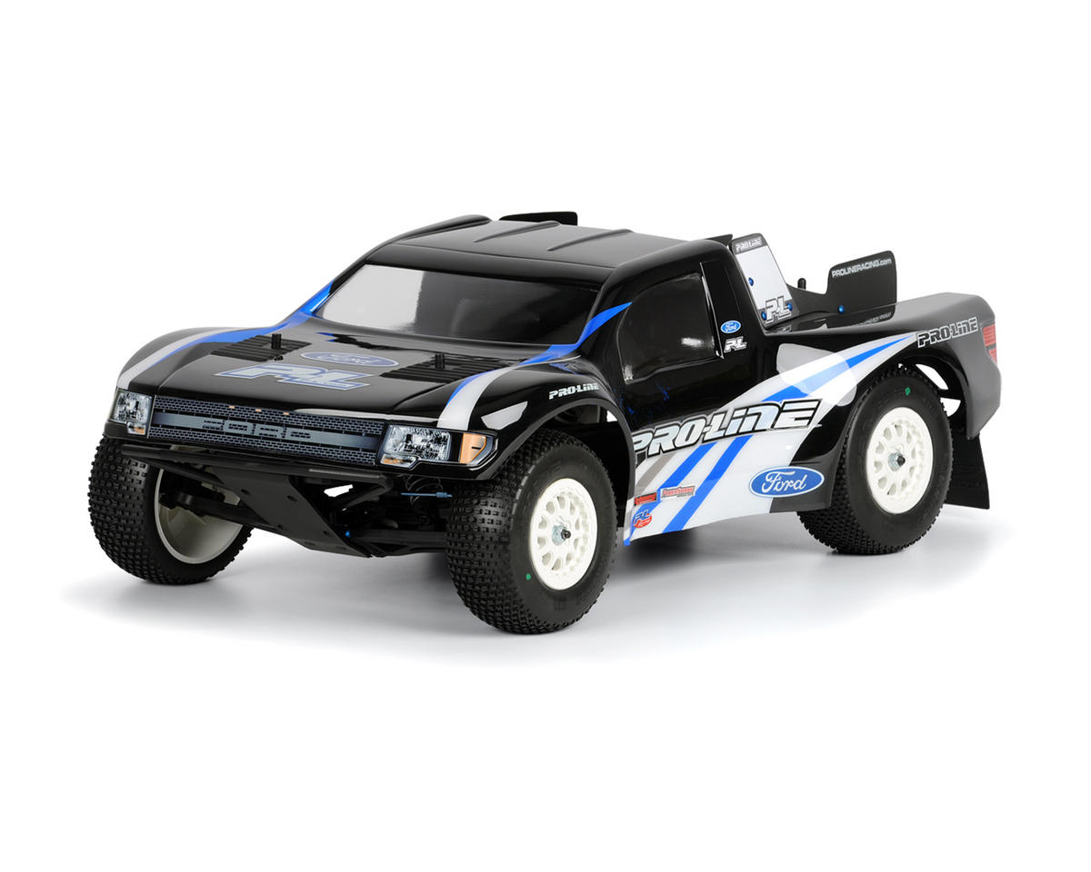 Ford F-150 SVT Raptor Body (Clear) (Slash, Slash 4x4, SC10) by Pro-Line
