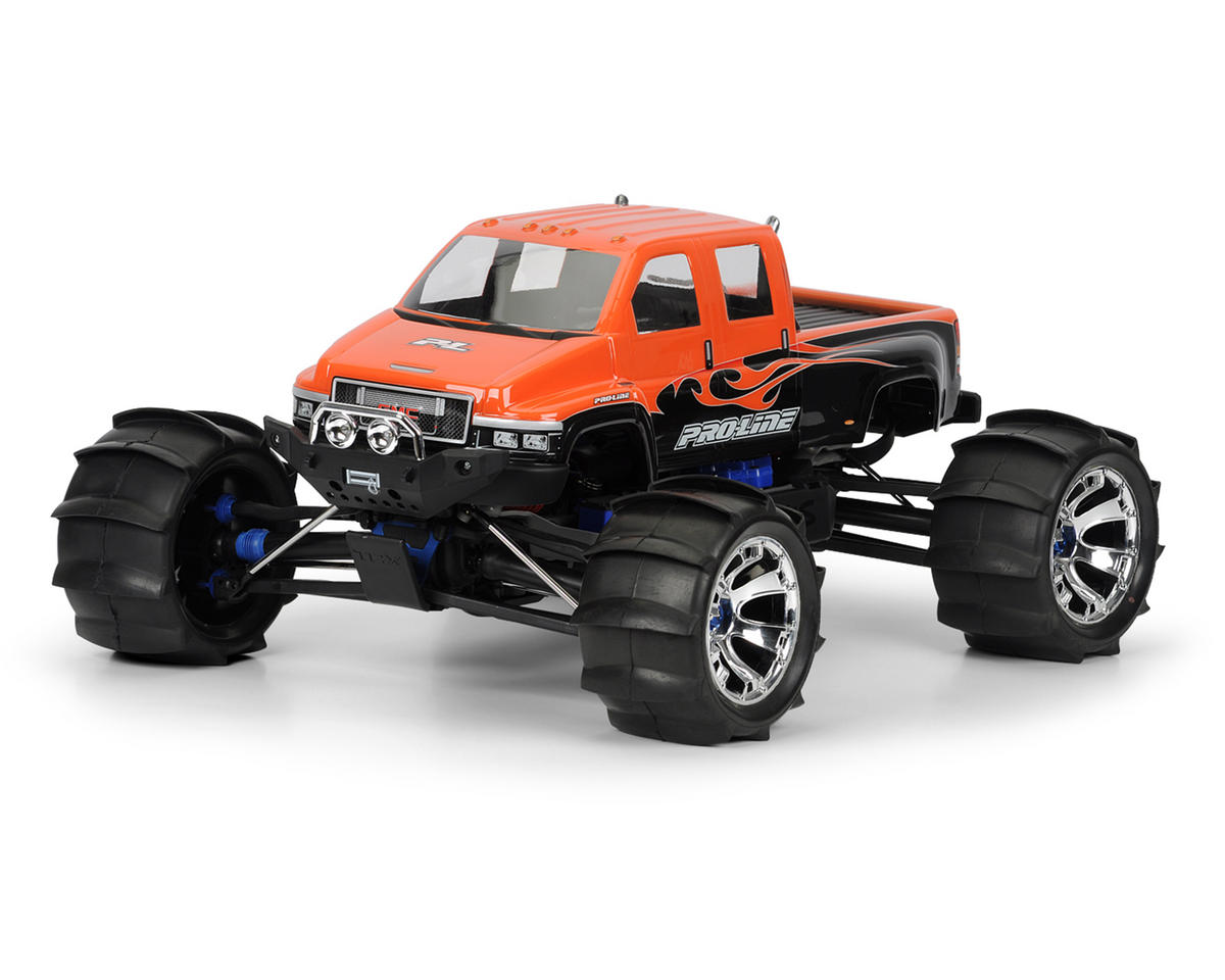 Pro-Line GMC TopKick Monster Truck Body (Clear)