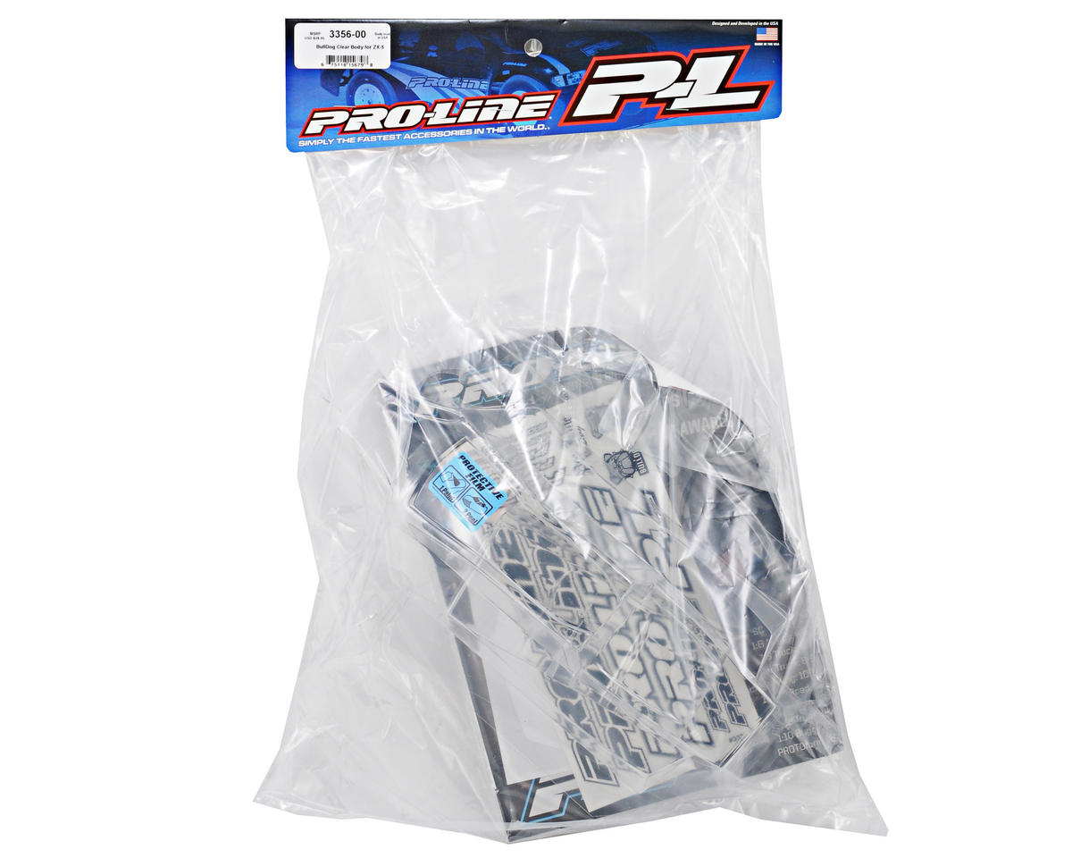 Pro-Line BullDog 1/10 Buggy Body (Clear) (ZX5)