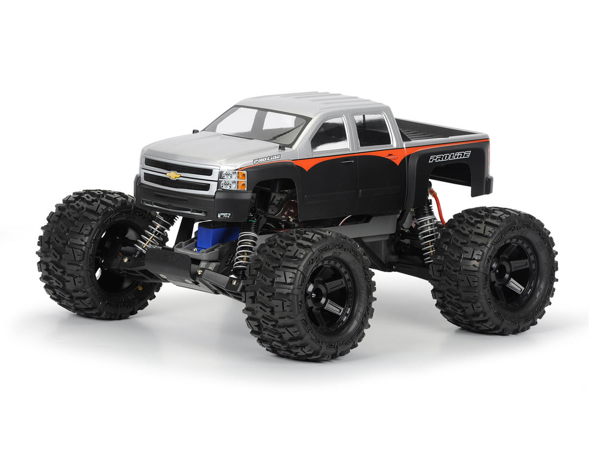 Pro-Line Chevy Silverado 2500 HD Body (Clear) (Stampede)