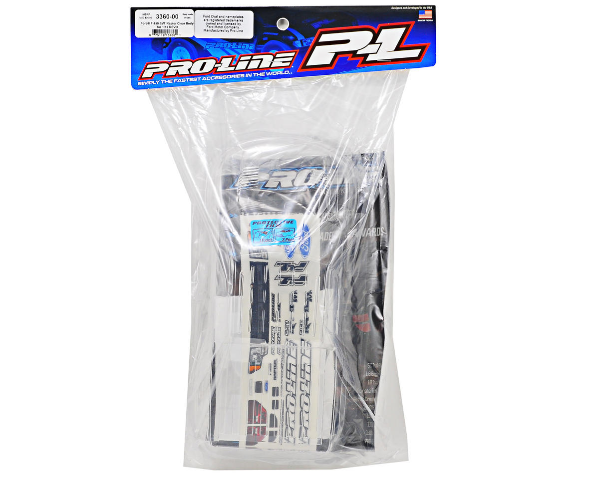 Ford F-150 SVT Raptor Mini Body (Clear) by Pro-Line