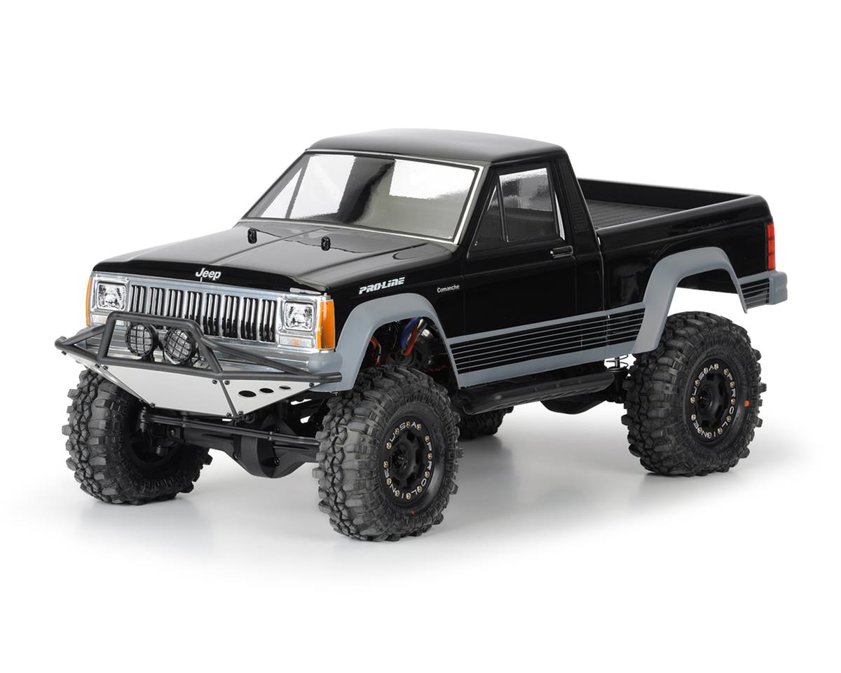 "Pro-Line 12.3"" Jeep Comanche ""Full Bed"" Rock Crawler Body (Clear)"