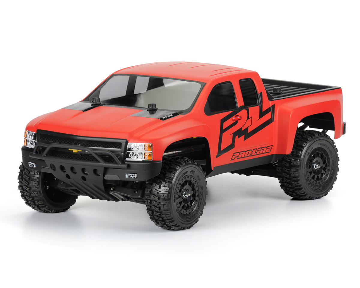 Chevy Silverado HD Body (Clear) (Slash/Slash 4x4) by Pro-Line