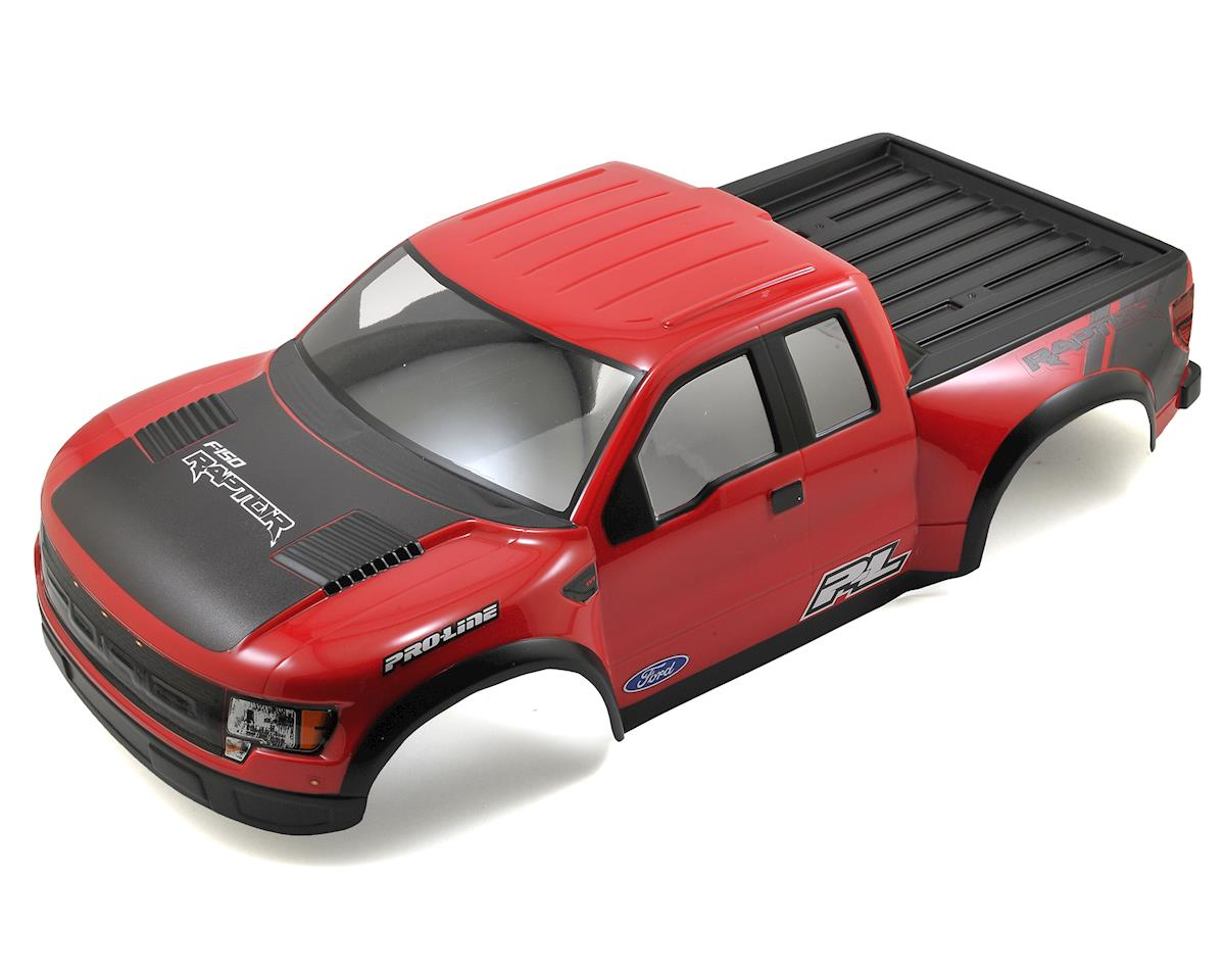 Pro-Line PRO-2 True Scale Ford F-150 Raptor SVT Short Course Body (Red)
