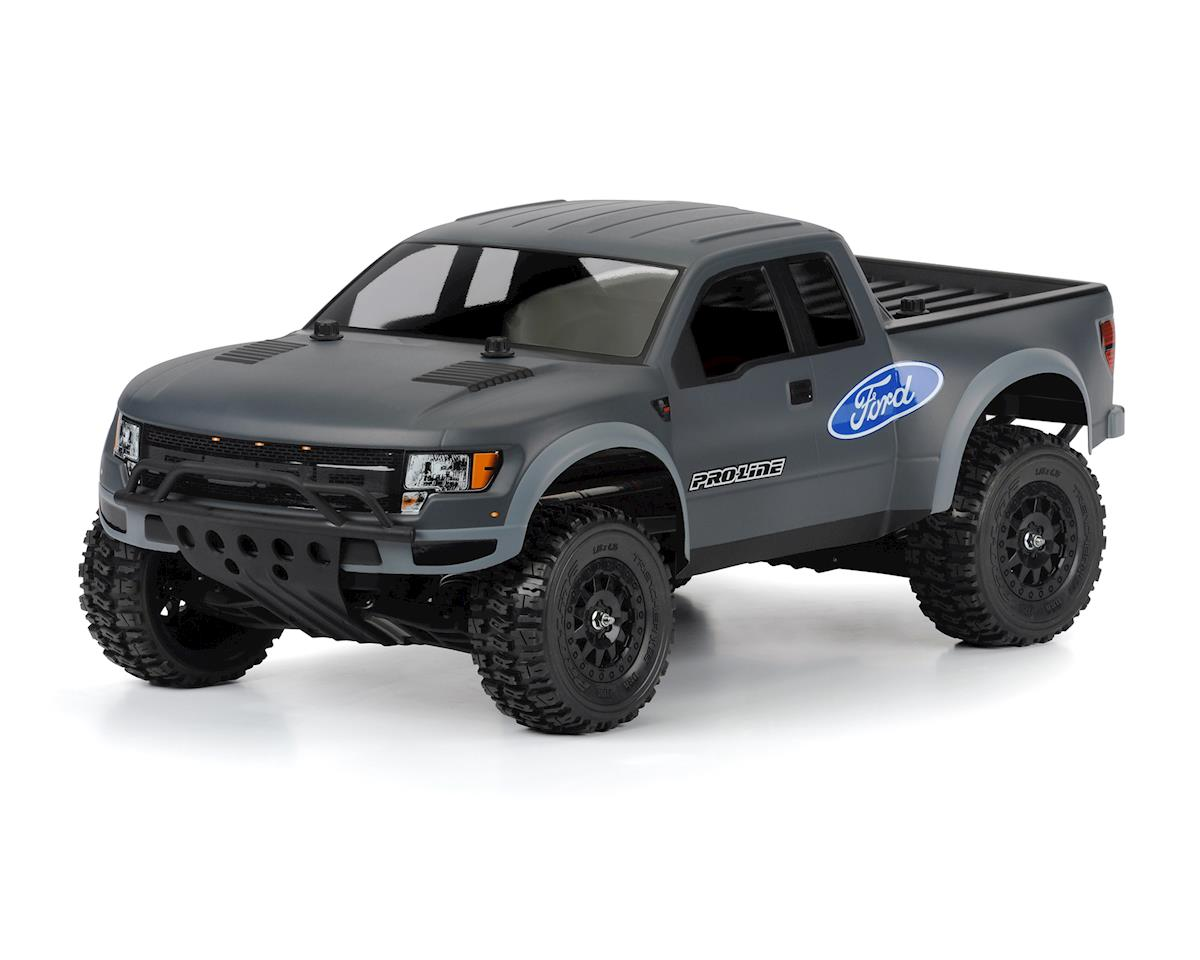 "Pro-Line ""True Scale"" Ford F-150  Raptor SVT Pre-Cut Body (Clear)"