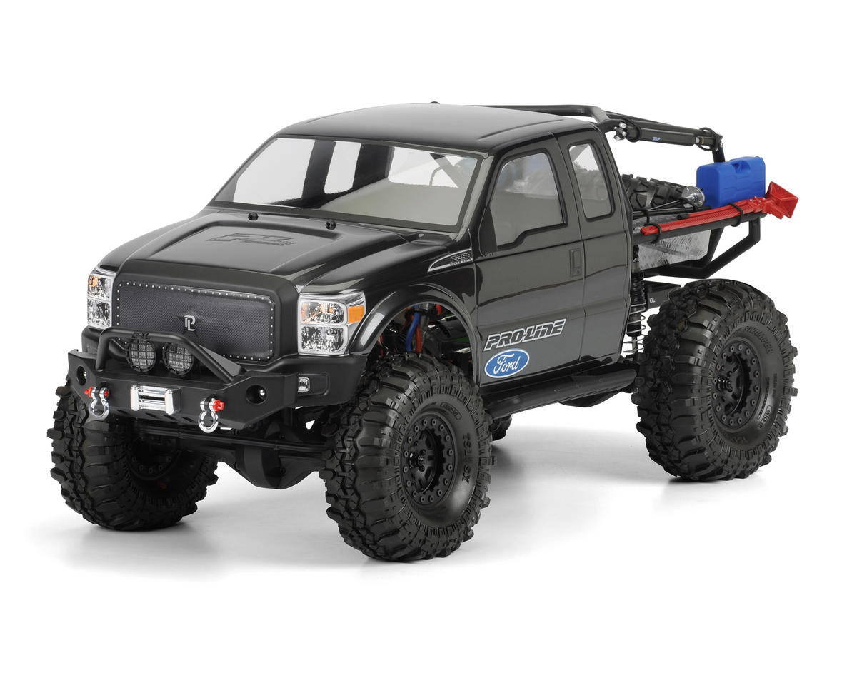 Pro-Line Ford F-250 Super Duty Rock Crawler Body (Clear) (Trail Honcho)