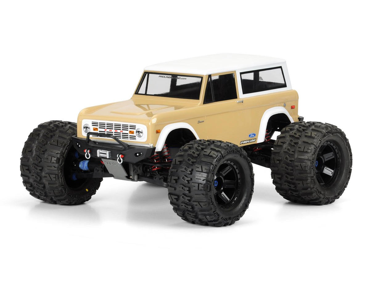 Pro-Line 1973 Ford Bronco Monster Truck Body (Clear)