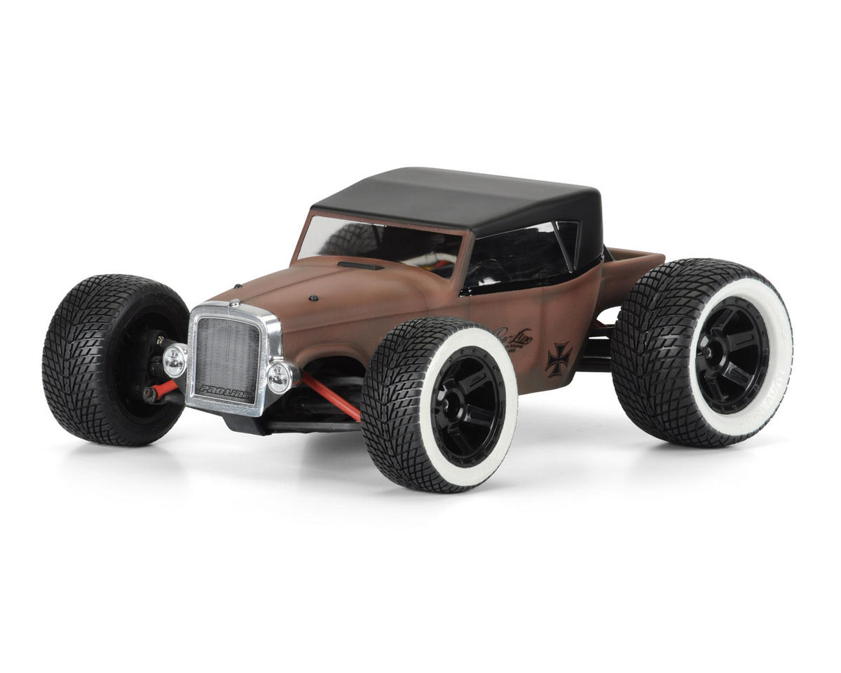 Rat Rod Mini Body (Clear) (1/16 E-Revo) by Pro-Line