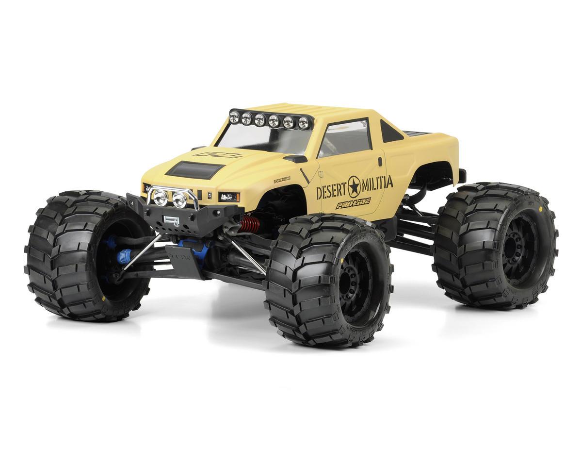 Desert Militia Monster Truck Body (Clear) by Pro-Line