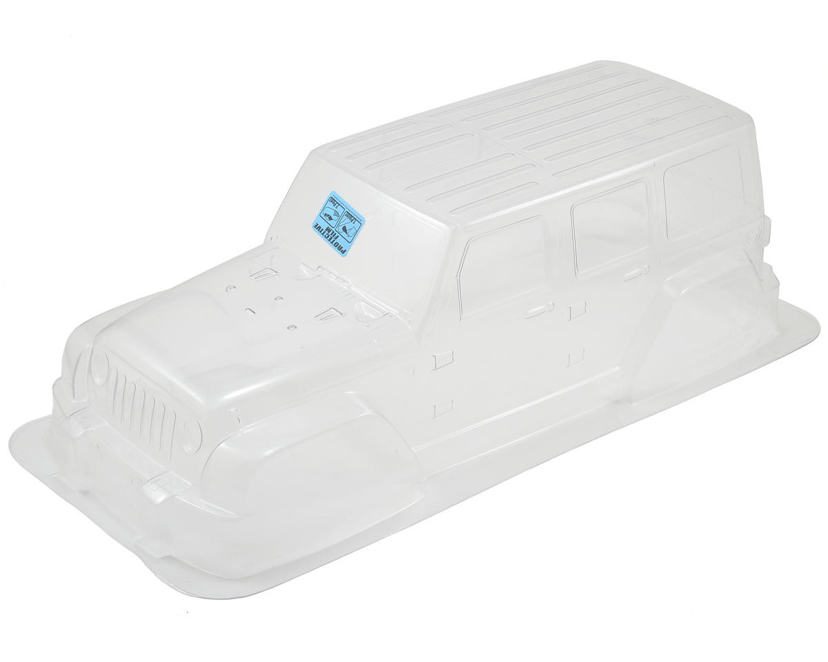 Pro-Line Jeep Wrangler Unlimited Rubicon Monster Truck Body (Clear) (Traxxas E-Maxx)