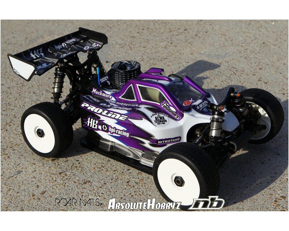 Pro-Line BullDog D815/D812 Gen 3 1/8 Buggy Body (Clear)
