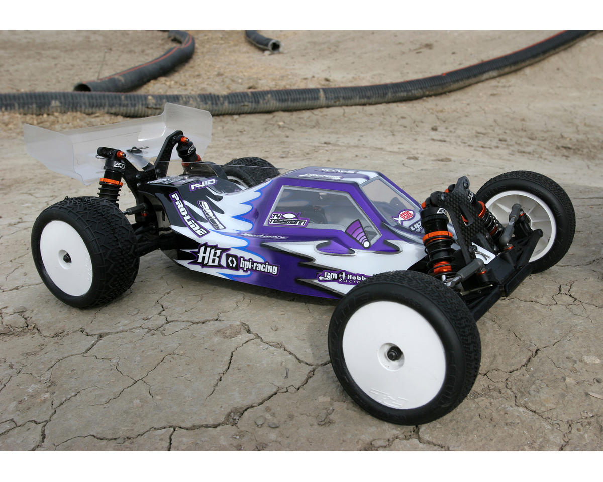 Pro-Line Phantom 1/10 Buggy Body (Clear) (RB6, 201XR/XM)
