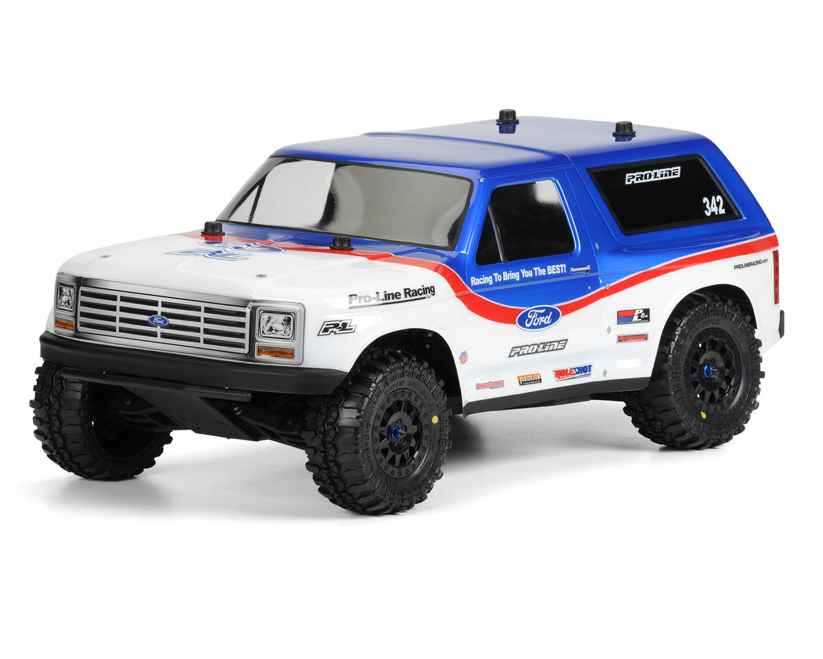 1981 Ford Bronco PRO-2 Body (Clear) (Slash/SC10) by Pro-Line