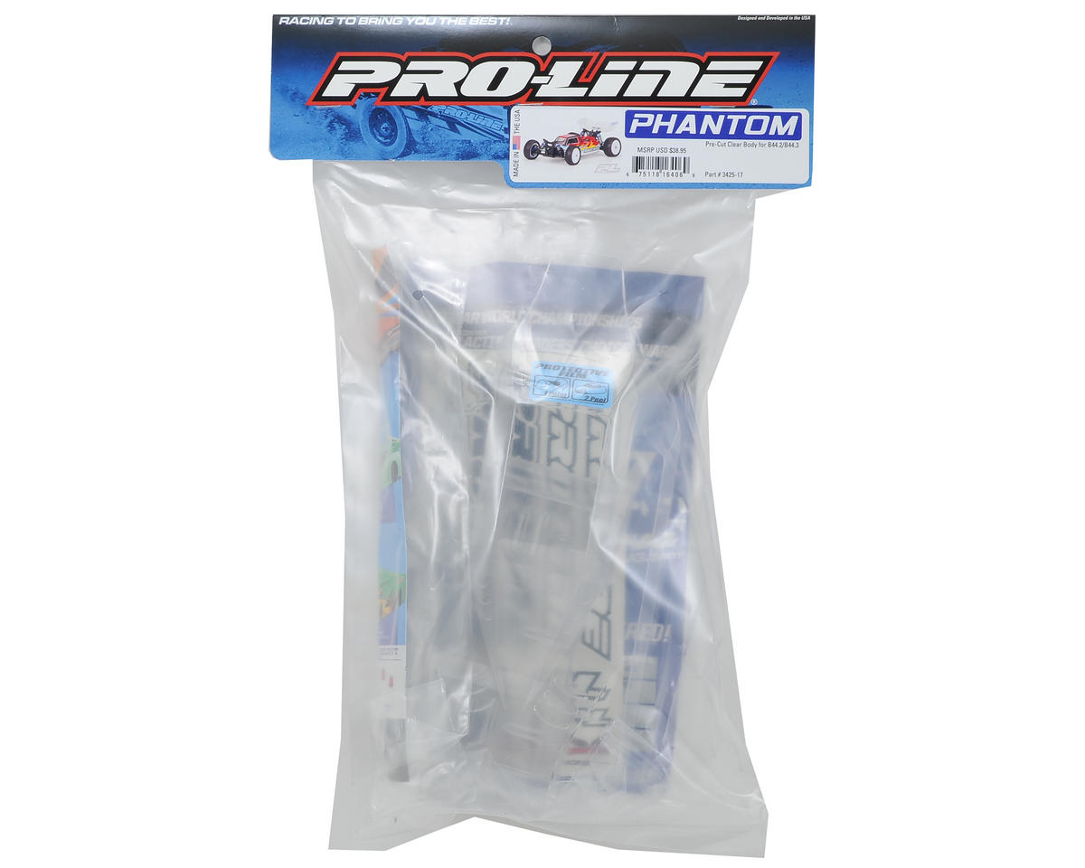 Pro-Line Phantom 1/10 Buggy Pre-Cut Body (Clear) (B44.2/B44.3)