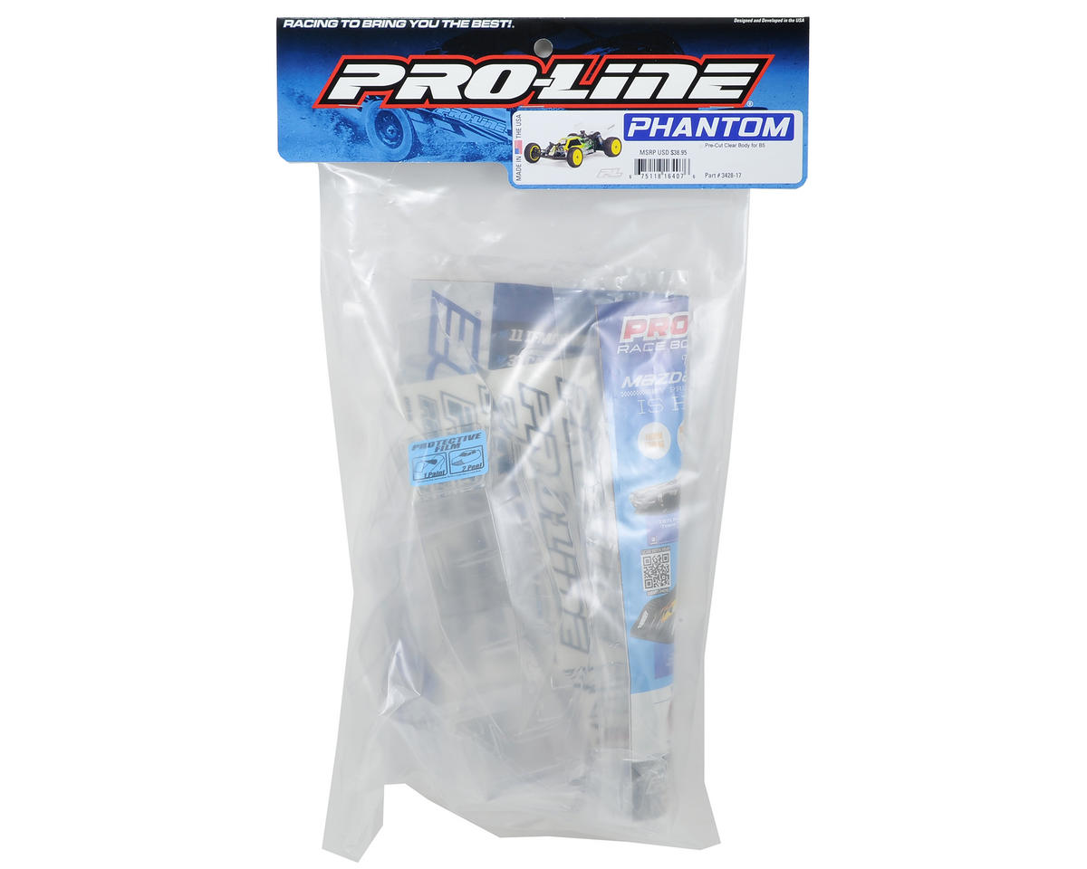 Pro-Line Phantom 1/10 Buggy Pre-Cut Body (Clear) (B5)