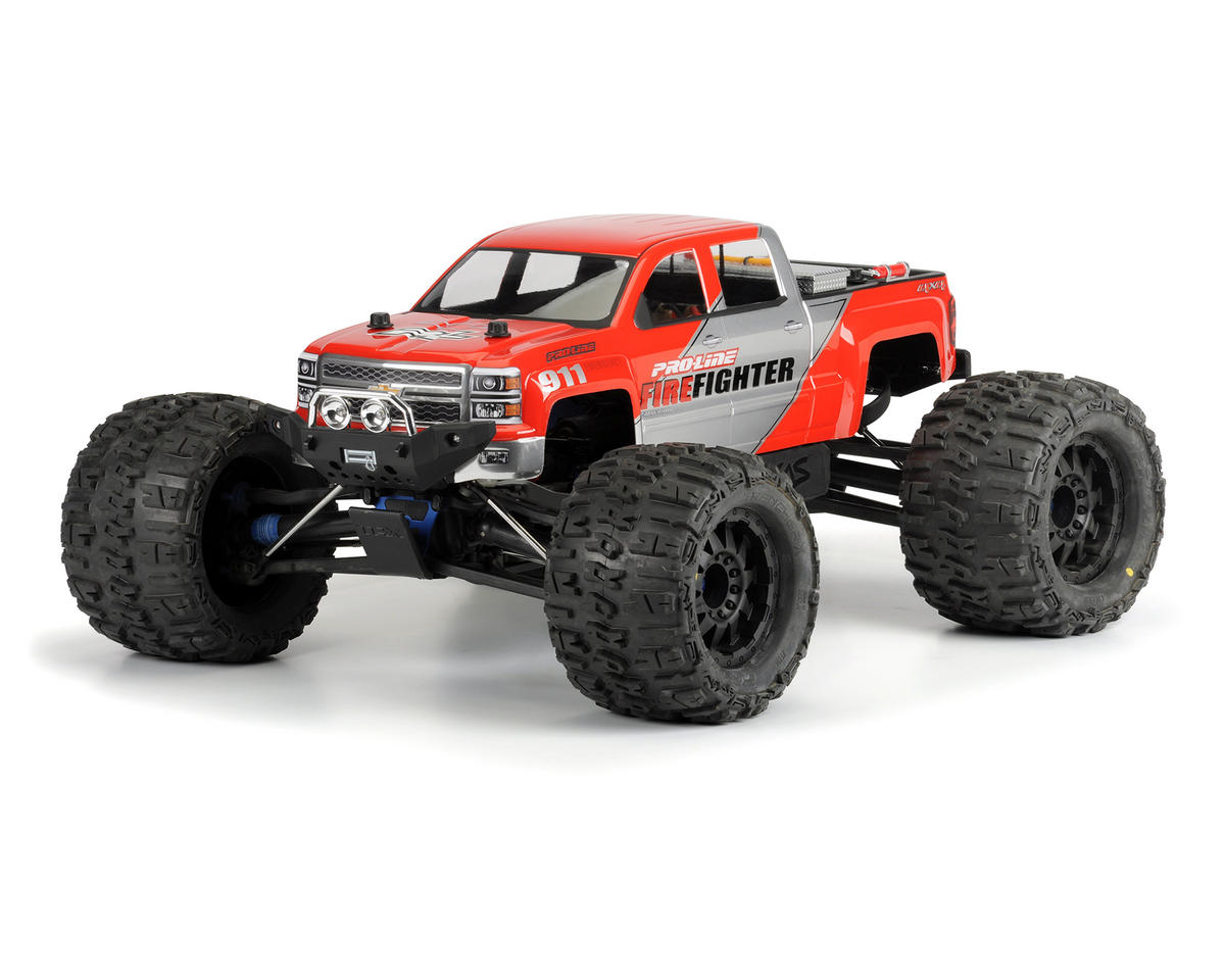 Pro-Line 2014 Chevy Silverado Monster Truck Body (Clear)