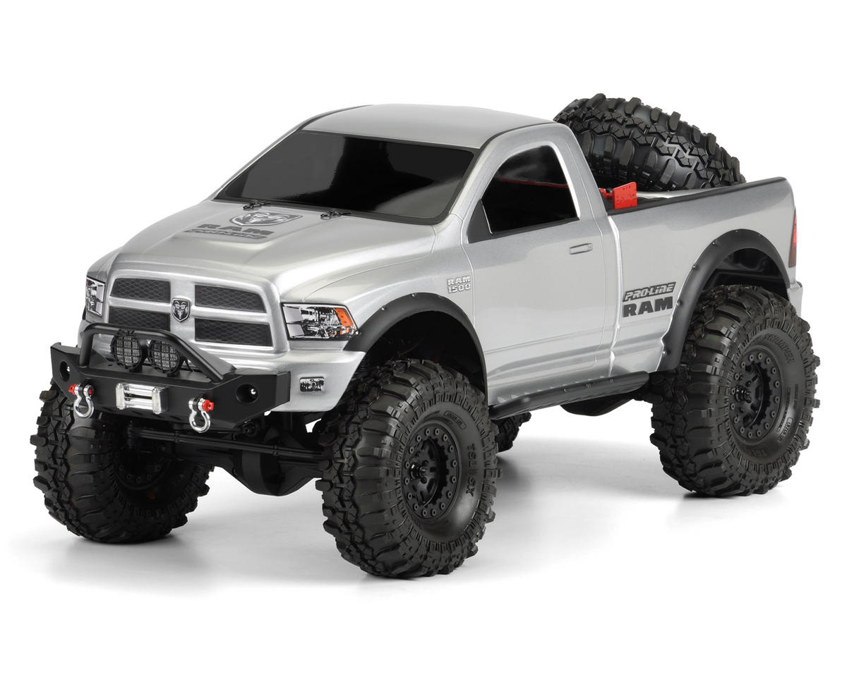 Image 3 for Pro-Line Ram 1500 Rock Crawler Body (Clear)