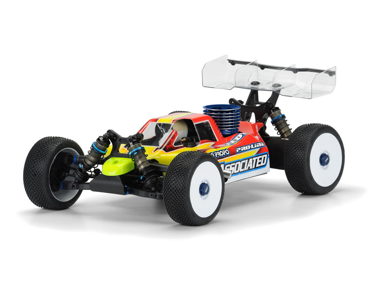 "Pro-Line ""Predator"" RC8B3 1/8 Buggy Pre-Cut Body (Clear)"