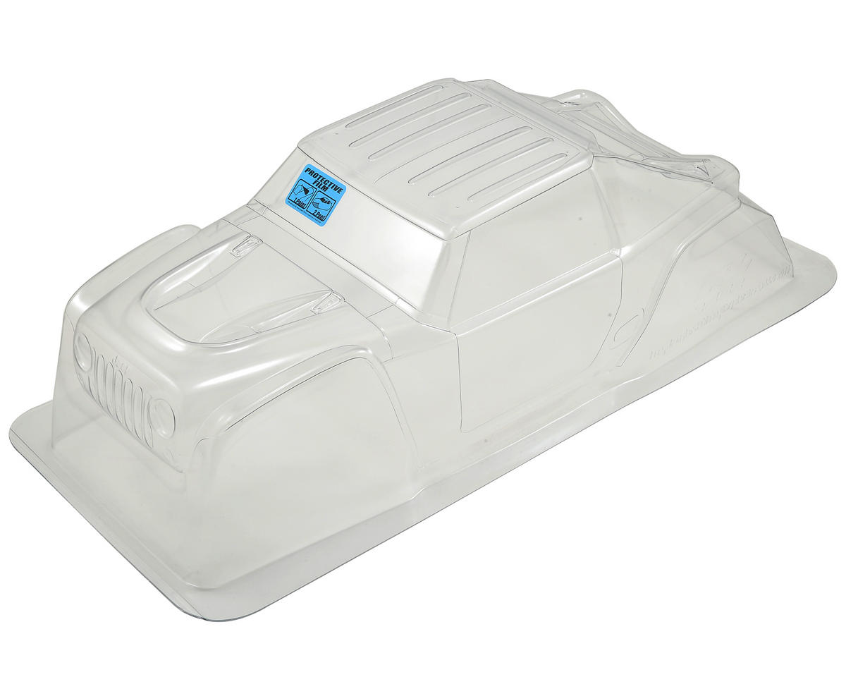 Jeep Wrangler Rubicon Body (Clear) (Yeti) by Pro-Line