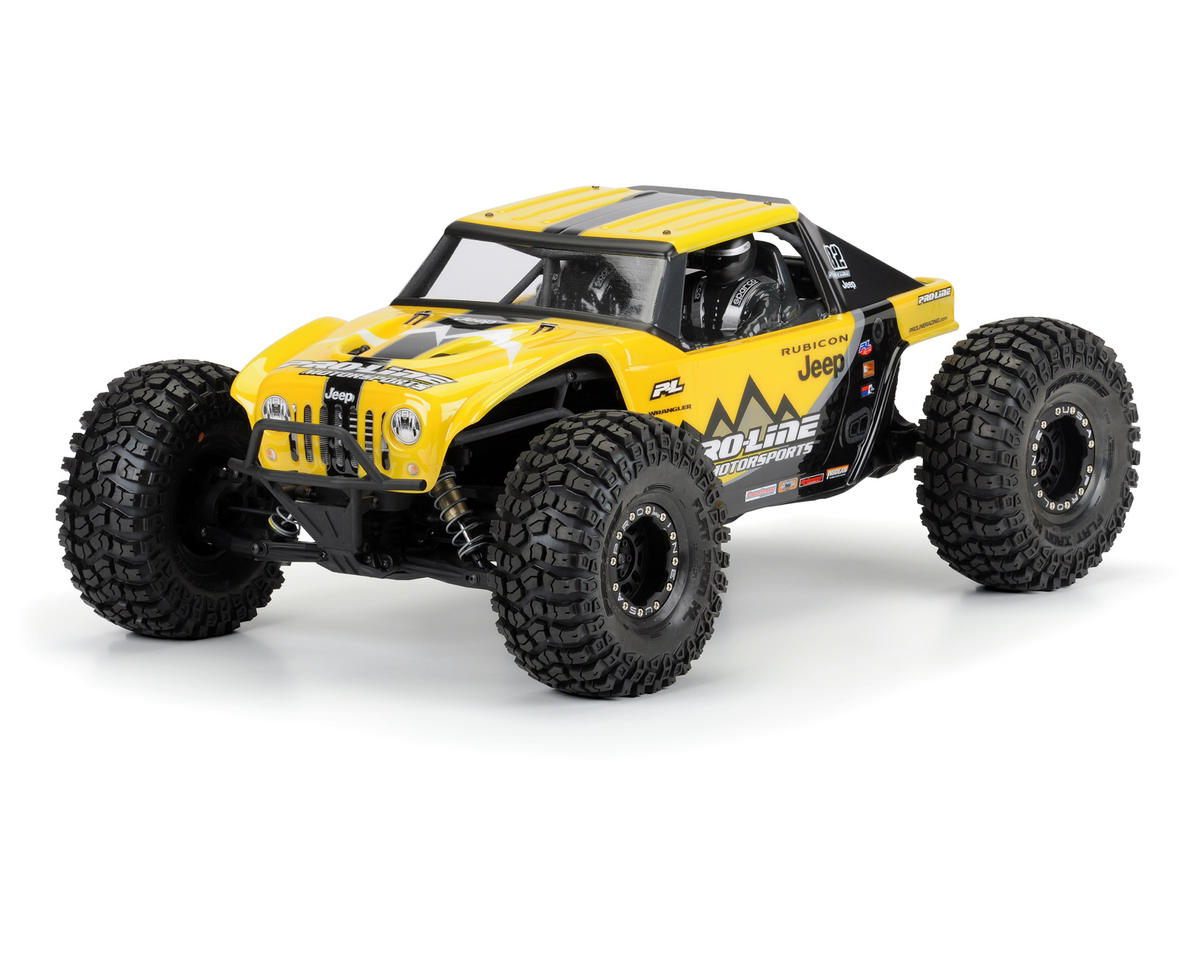 Pro-Line Jeep Wrangler Rubicon Body (Clear) (Yeti)
