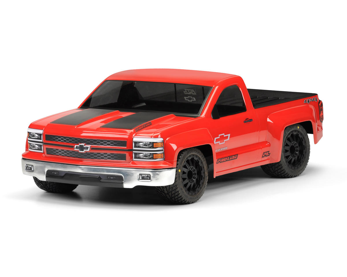 Pro-Line Chevy Silverado Pro-Touring Short Course Body (Clear)
