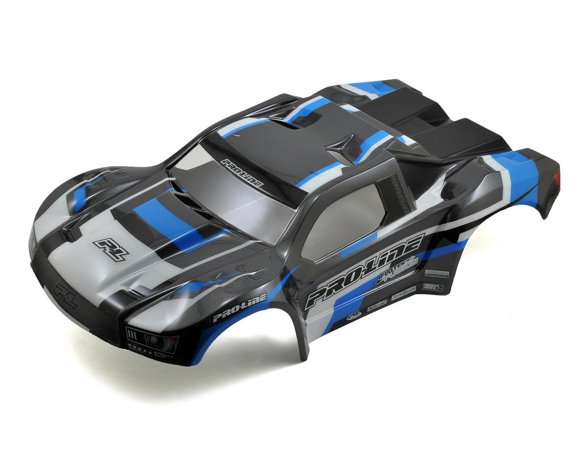 Pro-Line Flo-Tek Pre-Painted Short Course Body (Blue) (HPI Blitz)