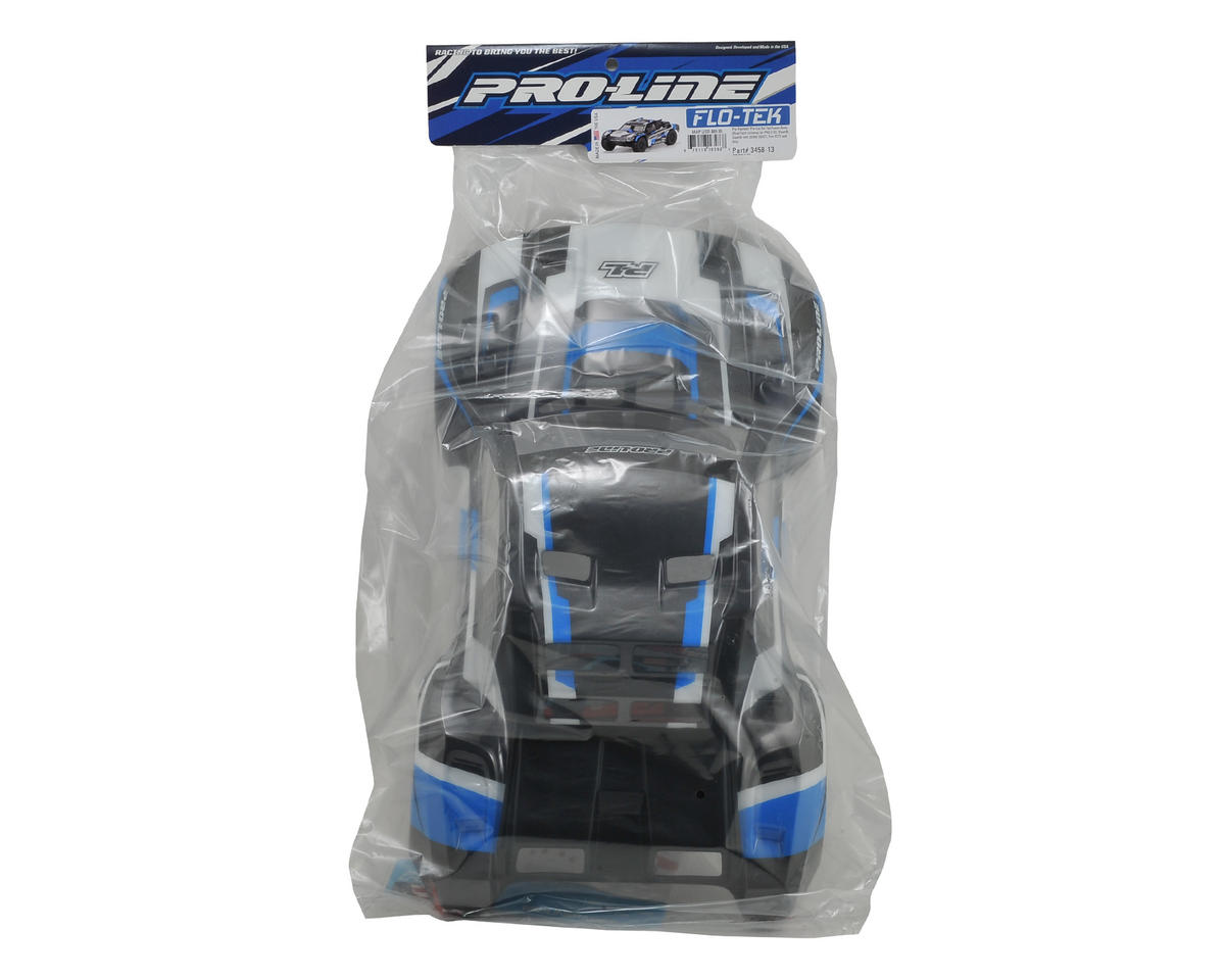 Flo-Tek Pre-Painted Short Course Body (Blue) by Pro-Line