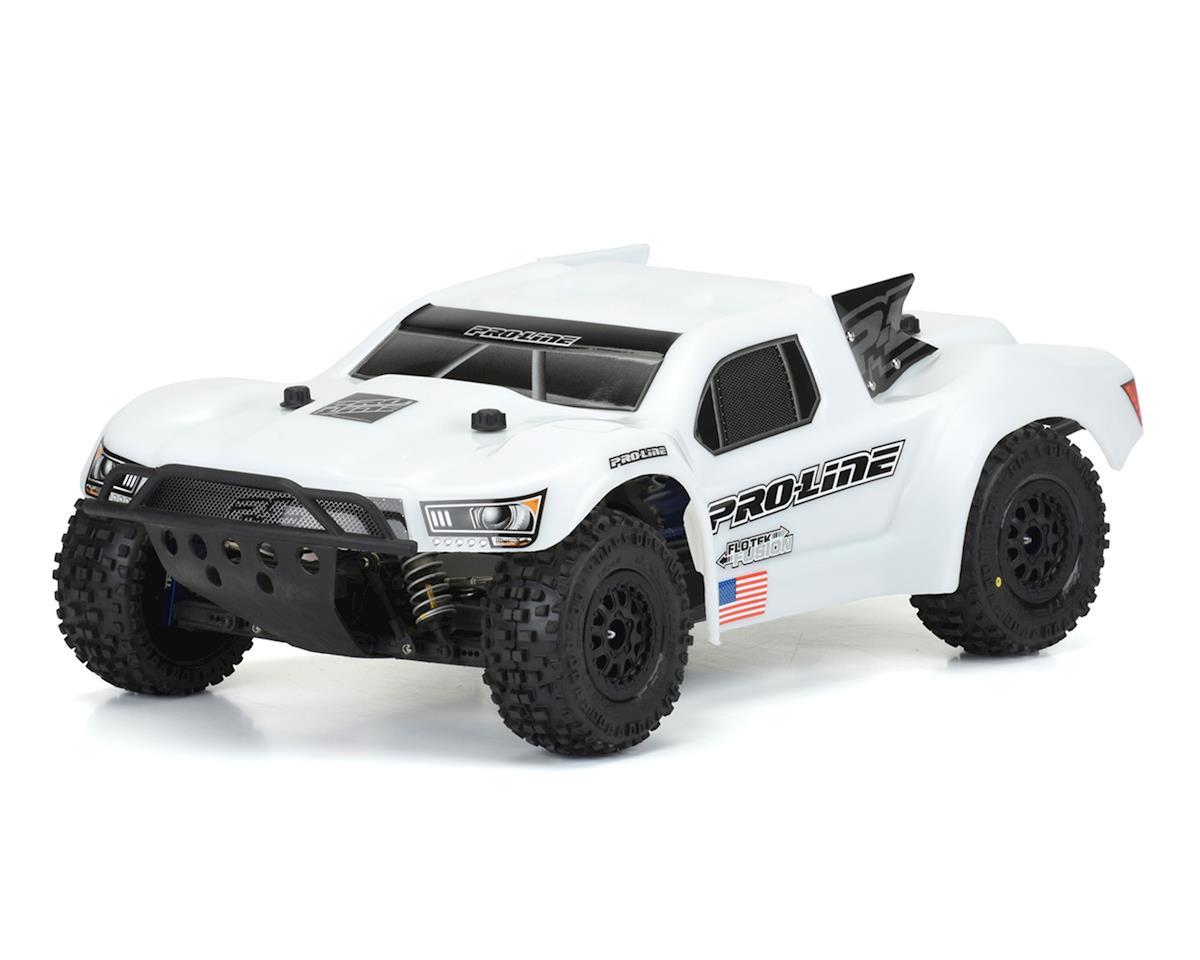 Pro-Line Flo-Tek Pre-Cut Bash Armor Short Course Truck Body (White)