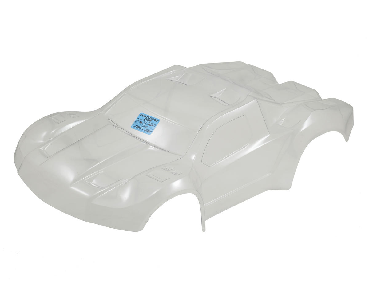 Pro-Line Flo-Tek Pre-Cut Fusion Short Course Body (Clear) (Traxxas Slash)