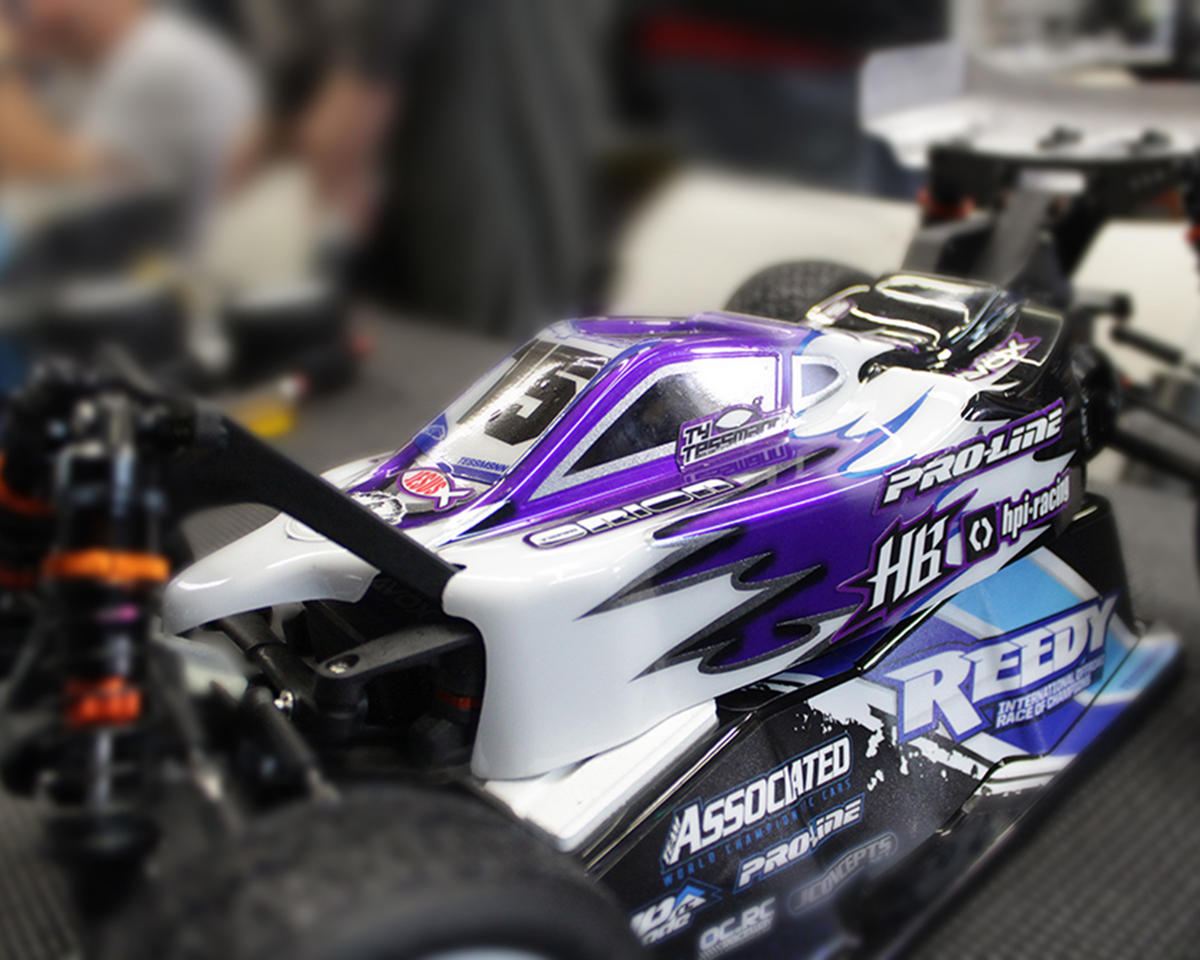 "Pro-Line ""Type-R"" 1/10 Buggy Body (Clear) (Hot Bodies D216)"