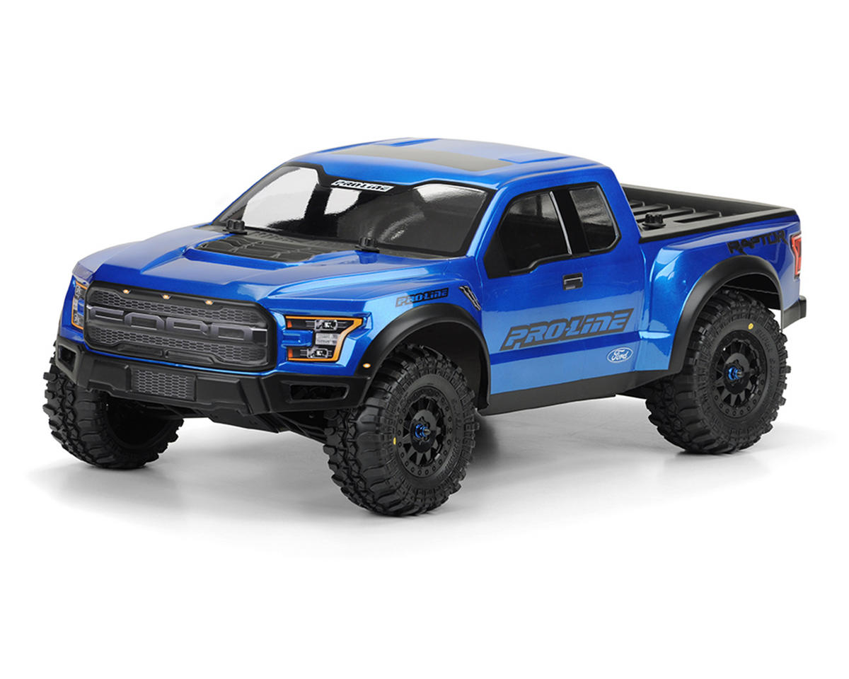 Pro-Line True Scale 2017 Ford F-150 Body (Clear)