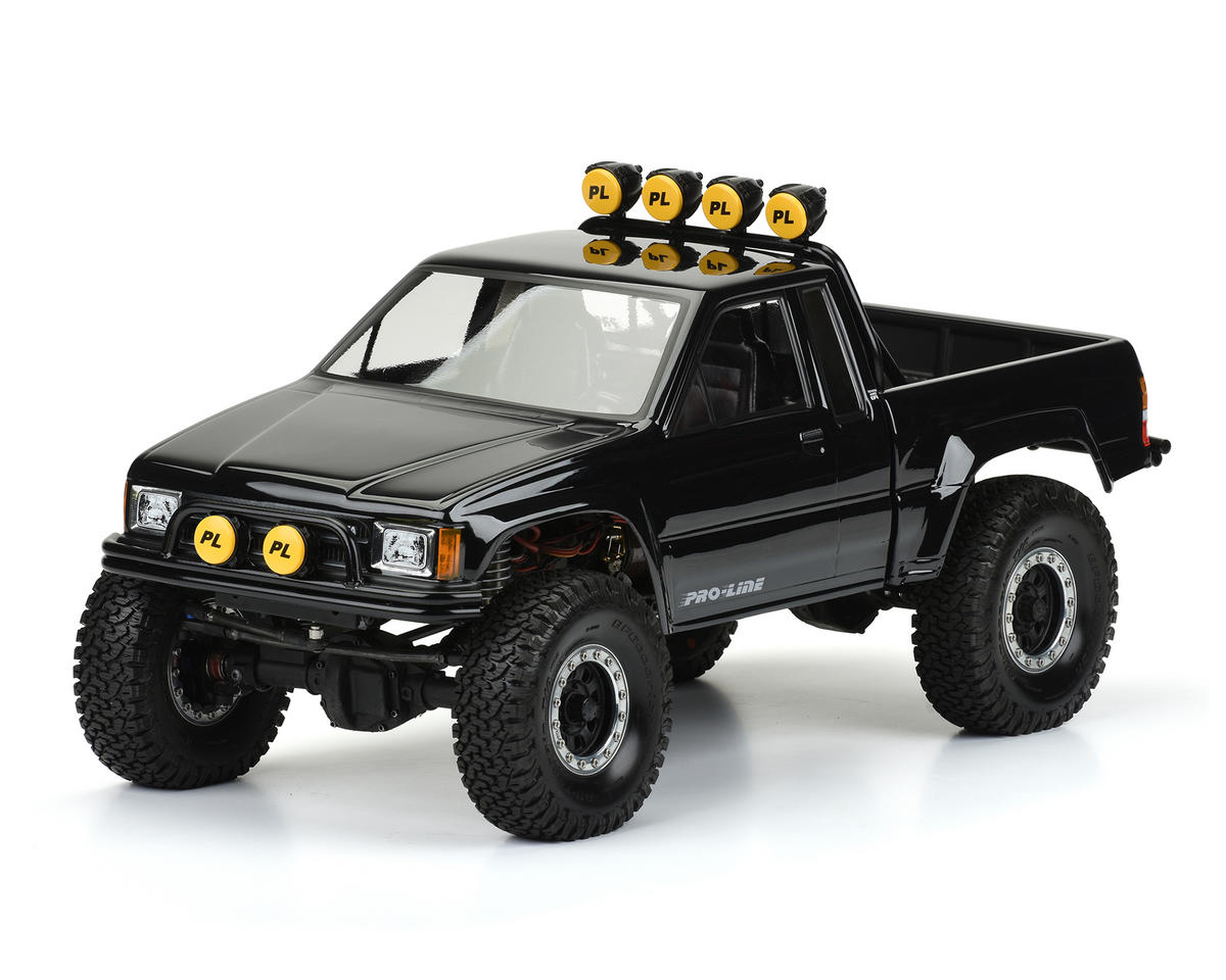 "Pro-Line 1985 Toyota HiLux SR5 12.3"" Rock Crawler Body (Clear) (Honcho)"