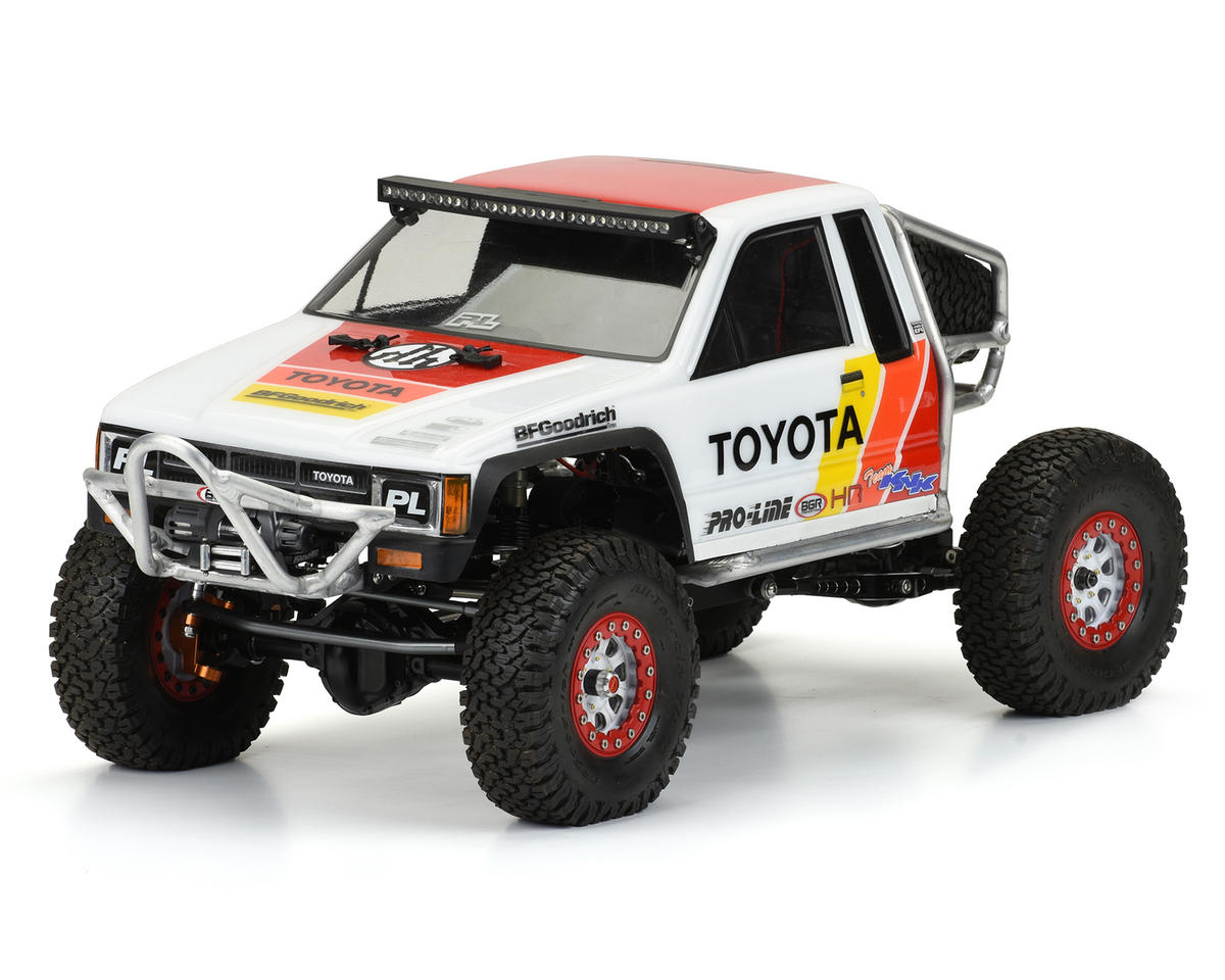 "Pro-Line 1985 Toyota HiLux SR5 Cab 12.3"" Rock Crawler Body (Clear) (Honcho)"