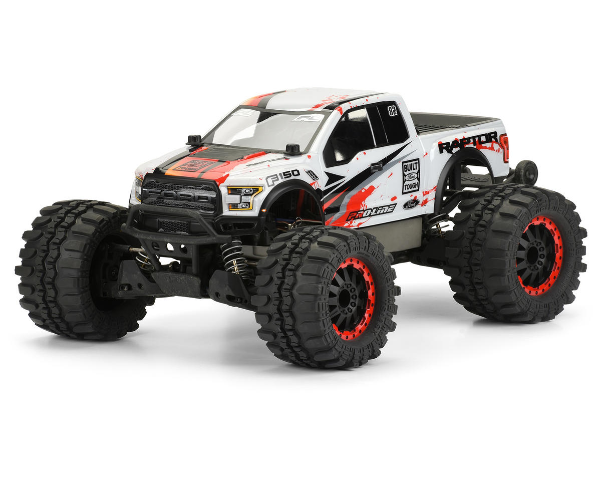 Pro-Line 2017 Ford F-150 Raptor Body (Clear) (Stampede)