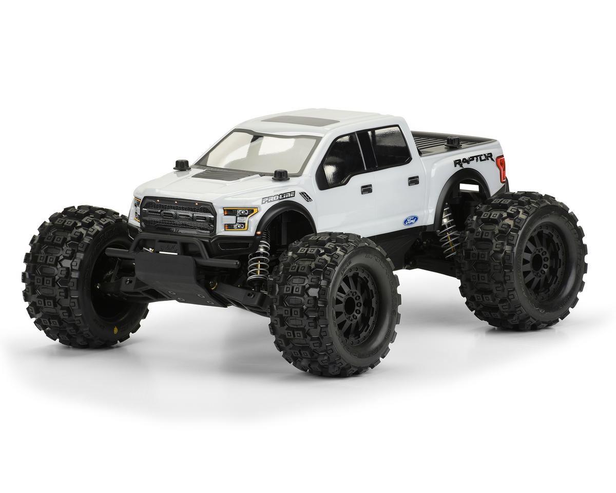 Pro-Line 2017 Ford F-150 Raptor Body (Clear) (PRO-MT)