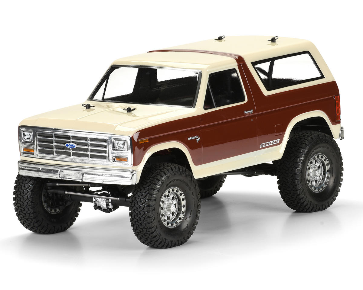 Pro-Line 1981 Ford Bronco 12.3 Crawler Body (Clear)