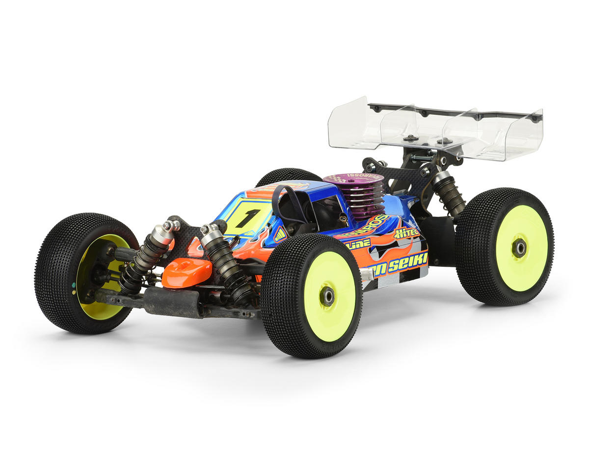 """Predator"" MBX7R 1/8 Buggy Body (Clear) by Pro-Line"