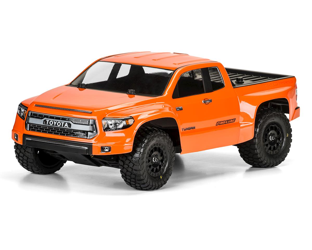 Pro-Line Toyota Tundra TRD Pro True Scale Short Course Truck Body (Clear)