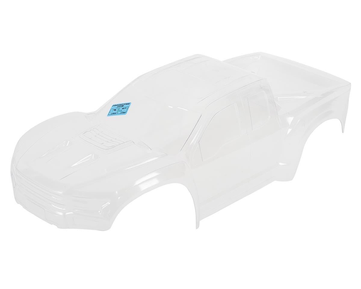 2017 Ford F-150 Raptor Pre-Cut Monster Truck Body (Clear) (X-Maxx) by Pro-Line