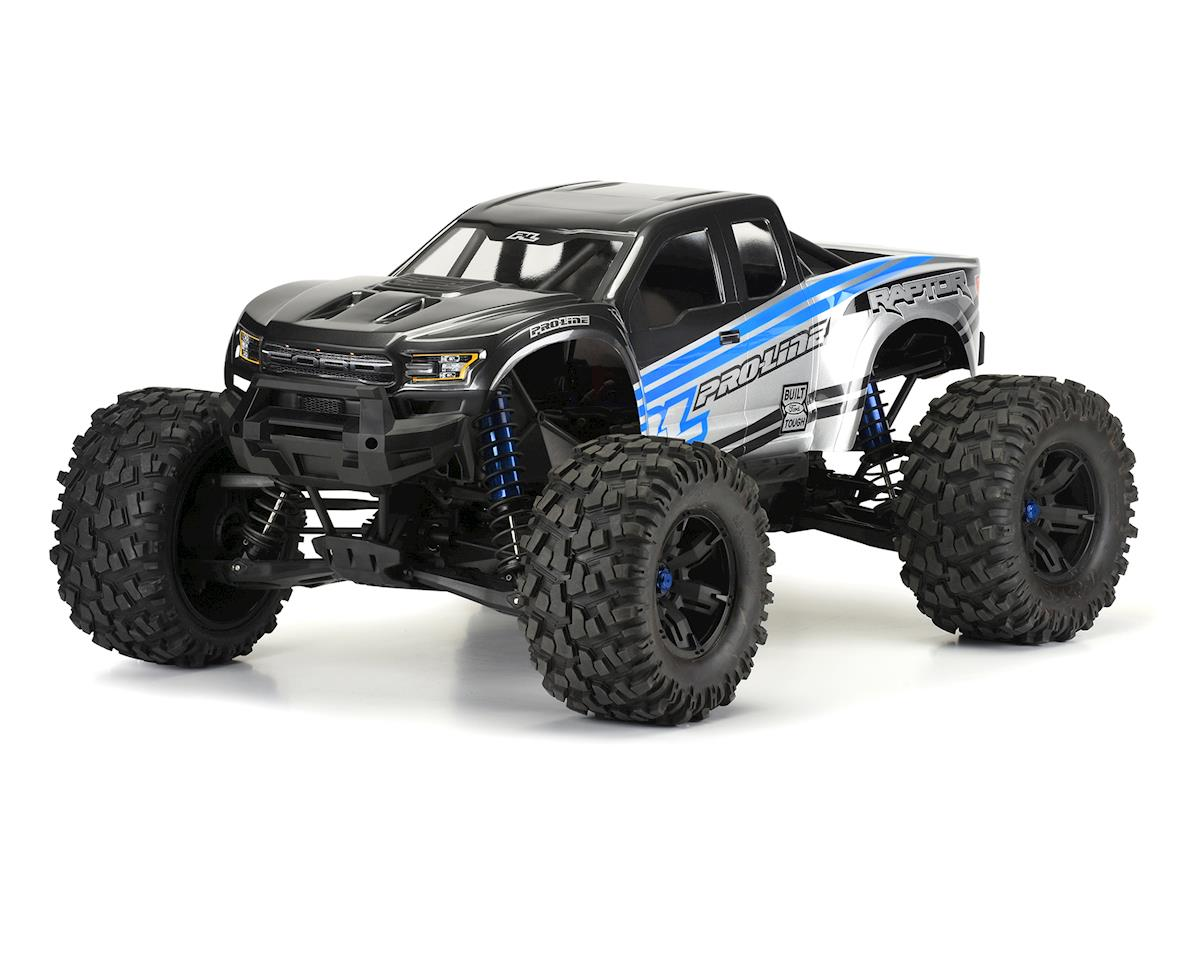 Pro-Line 2017 Ford F-150 Raptor Pre-Cut Monster Truck Body (Clear) (X-Maxx)