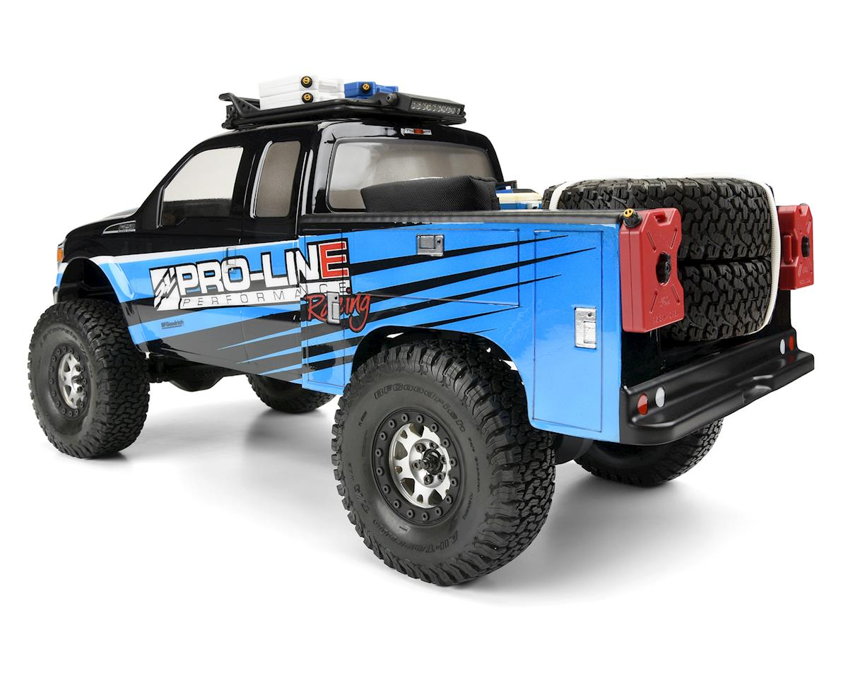 Pro-Line Rock Crawler Utility Bed (Clear) (Honcho)