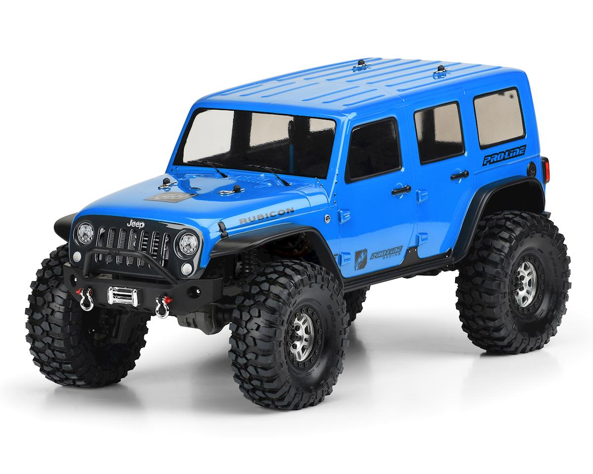 Jeep Wrangler Unlimited Rubicon Body (Clear) (TRX-4) by Pro-Line