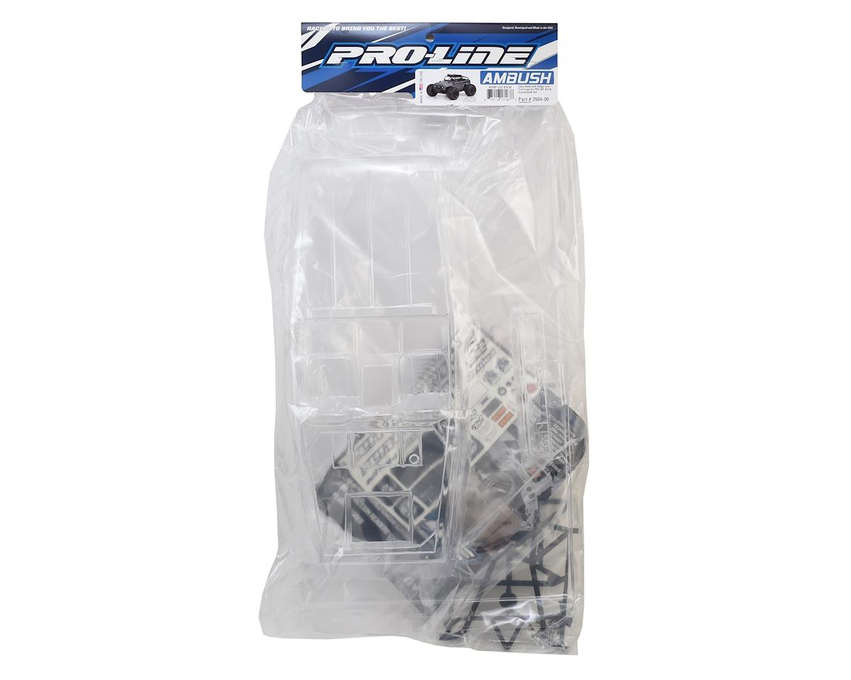 Image 2 for Pro-Line Ambush Monster Truck Body w/Ridge-Line Trail Cage (Clear)