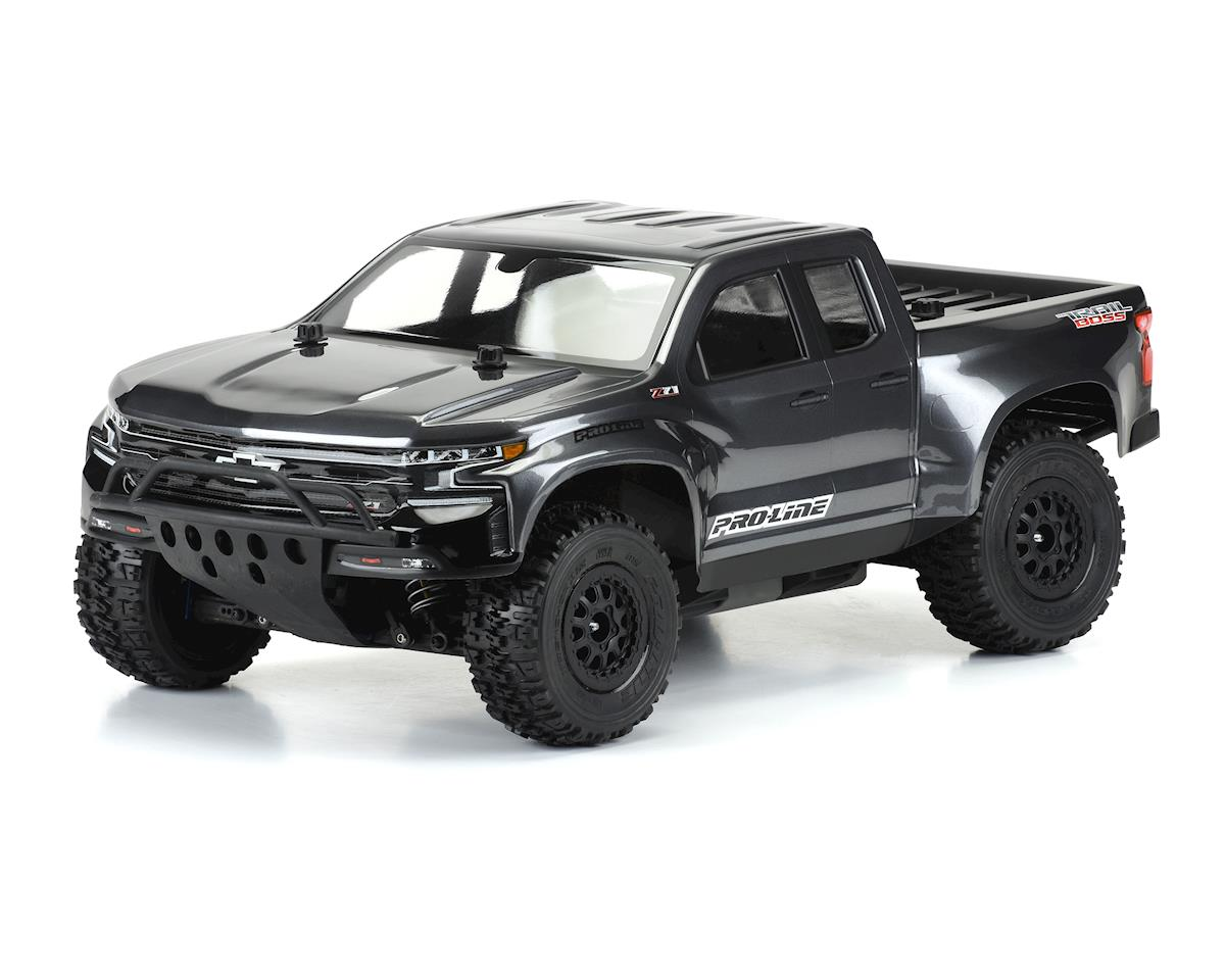 Pro-Line 2019 Chevy Silverado Z71 Trail Boss True Scale Short Course Body