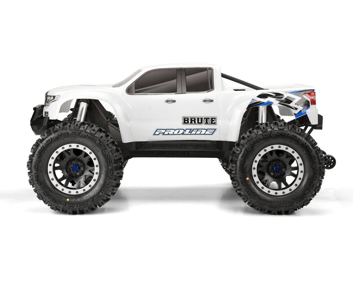Pro-Line Bash Armor Pre-Cut Monster Truck Body (White) (X-Maxx)