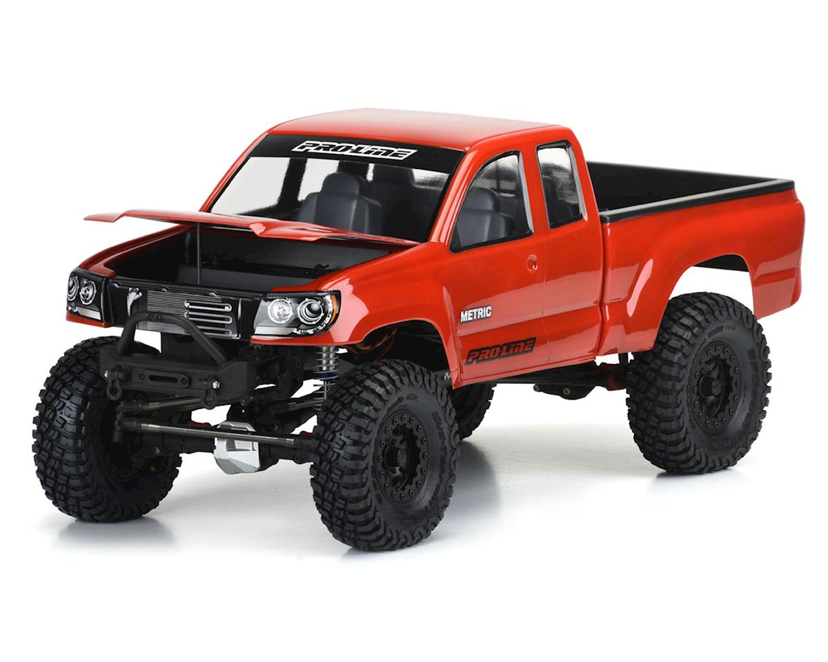 "Pro-Line Builder's Series: Metric 12.3"" Rock Crawler Body (Clear) (Vaterra Ascender)"