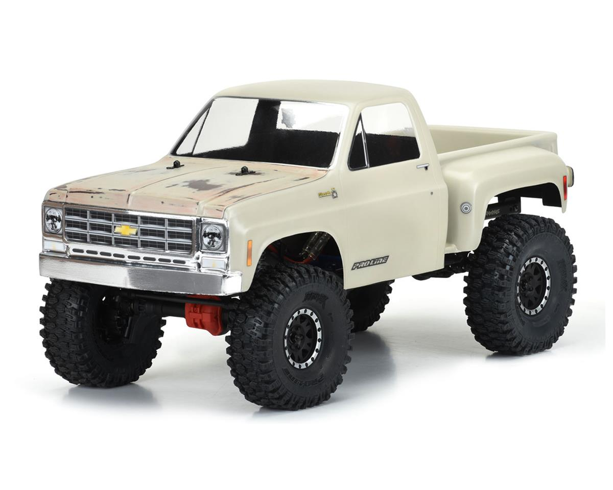 "Pro-Line 1978 Chevy K-10 12.3"" Rock Crawler Body (Clear)"